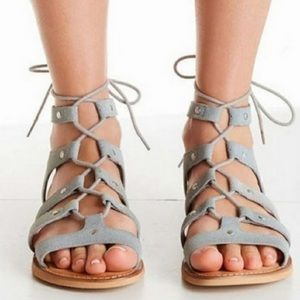 Urban outfitters Willow Suede Gladiator sandals 7
